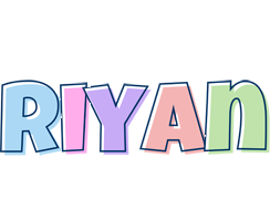 Riyan pastel logo