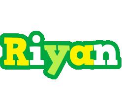 Riyan soccer logo