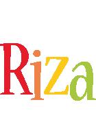 Riza birthday logo