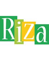 Riza lemonade logo