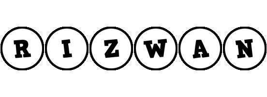 Rizwan handy logo