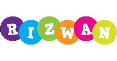 Rizwan happy logo