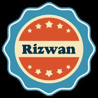 Rizwan labels logo