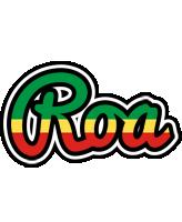 Roa african logo