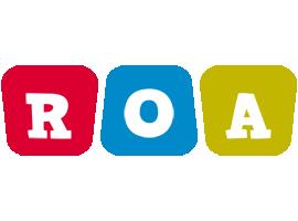 Roa daycare logo