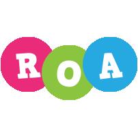 Roa friends logo