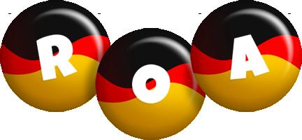 Roa german logo