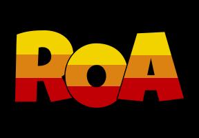 Roa jungle logo