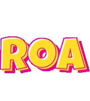 Roa kaboom logo