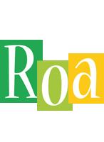 Roa lemonade logo