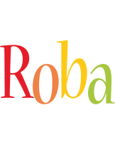 Roba birthday logo