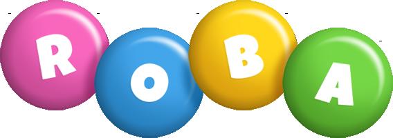 Roba candy logo