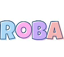 Roba pastel logo