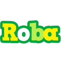 Roba soccer logo