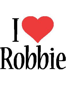 Robbie i-love logo