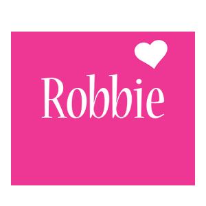 Robbie love-heart logo