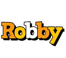 Robby cartoon logo