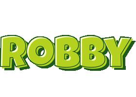 Robby summer logo