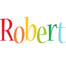 Robert birthday logo