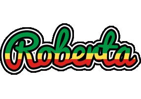 Roberta african logo