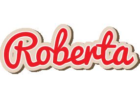 Roberta chocolate logo