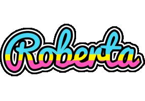 Roberta circus logo