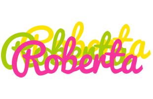 Roberta sweets logo