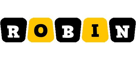 Robin boots logo