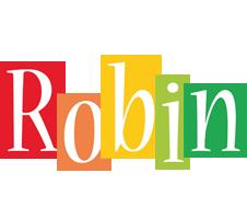 Robin colors logo