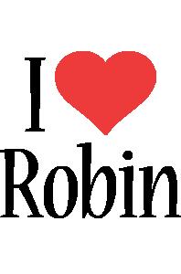 Robin i-love logo