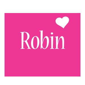 Robin love-heart logo