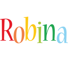 Robina birthday logo