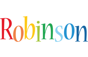 Robinson birthday logo