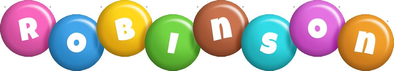 Robinson candy logo