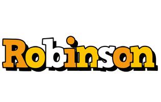 Robinson cartoon logo