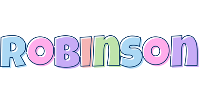 Robinson pastel logo