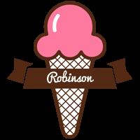Robinson premium logo