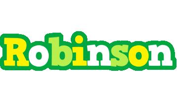 Robinson soccer logo