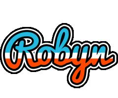Robyn america logo