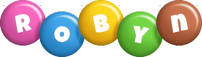 Robyn candy logo