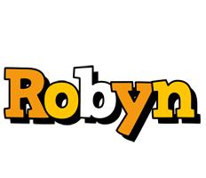 Robyn cartoon logo
