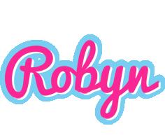 Robyn popstar logo