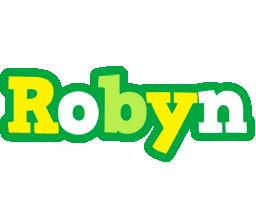 Robyn soccer logo