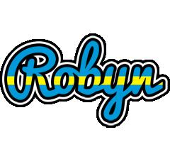 Robyn sweden logo
