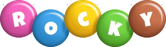 Rocky candy logo