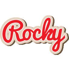 Rocky chocolate logo