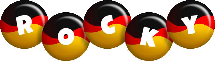 Rocky german logo