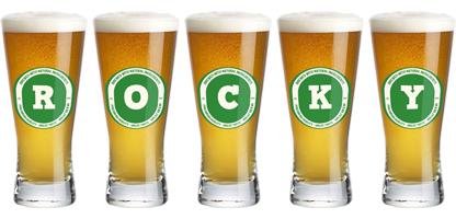 Rocky lager logo