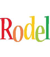 Rodel birthday logo