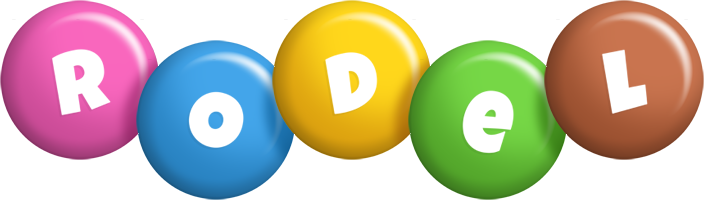 Rodel candy logo